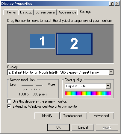 modifying the mobile intel 965 express chipset driver for windows xp