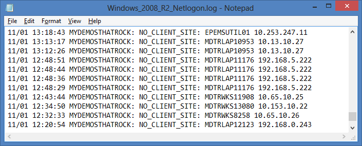 Windows2008R2Netlogon.log