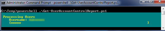 UserAccountControl - Progress